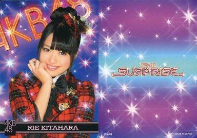【中古】アイドル(AKB48・SKE48)/チームサプライズ トレーディングカード 北原里英/ノーマルカード/裏面紫/チームサプライズ トレーディングカード