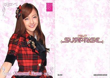 【中古】アイドル(AKB48・SKE48)/チームサプライズ トレーディングカード 板野友美/ノーマルカード/裏面白/チームサプライズ トレーディングカード