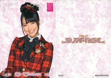 【中古】アイドル(AKB48・SKE48)/チームサプライズ トレーディングカード 北原里英/ノーマルカード/裏面白/チームサプライズ トレーディングカード
