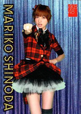 【中古】アイドル(AKB48・SKE48)/チームサプライズ トレーディングカード 篠田麻里子/ノーマルカード/裏面赤枠/チームサプライズ トレーディングカード