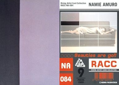 NA-084 : 安室奈美恵/ノーマルカード/9面パズルカード/ライジングアーティストカードコレクション