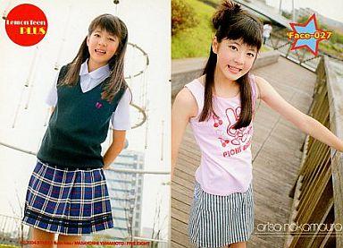 face,27 : 中村有沙/レギュラーカード/Lemon Teen PLUSオリジナルトレカ
