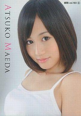 髪のアクセサリーが素敵な前田敦子さん