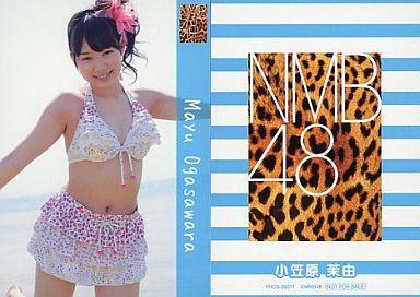 【中古】アイドル(AKB48・SKE48)/CD「ナギイチ」封入トレカ 小笠原茉由/YRCS-90011/CD「ナギイチ通常盤 Type-A DVD付き」封入トレカ