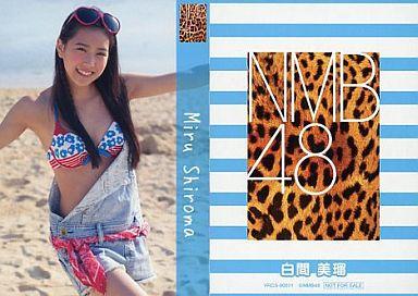 【中古】アイドル(AKB48・SKE48)/CD「ナギイチ」封入トレカ 白間美瑠/YRCS-90011/CD「ナギイチ通常盤 Type-A DVD付き」封入トレカ