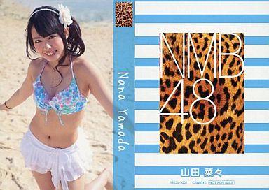 【中古】アイドル(AKB48・SKE48)/CD「ナギイチ」封入トレカ 山田菜々/YRCS-90011/CD「ナギイチ通常盤 Type-A DVD付き」封入トレカ