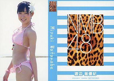 【中古】アイドル(AKB48・SKE48)/CD「ナギイチ」封入トレカ 渡辺美優紀/YRCS-90011/CD「ナギイチ通常盤 Type-A DVD付き」封入トレカ