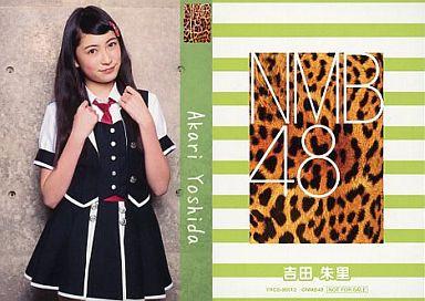 【中古】アイドル(AKB48・SKE48)/CD「ナギイチ」封入トレカ 吉田朱里/YRCS-90012/CD「ナギイチ通常盤 Type-B DVD付き」封入トレカ