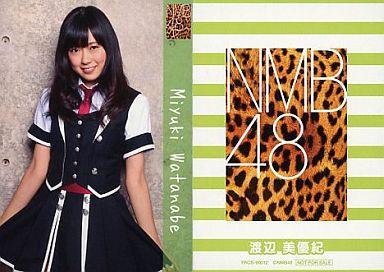 【中古】アイドル(AKB48・SKE48)/CD「ナギイチ」封入トレカ 渡辺美優紀/YRCS-90012/CD「ナギイチ通常盤 Type-B DVD付き」封入トレカ