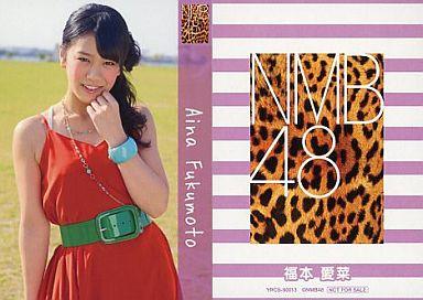 【中古】アイドル(AKB48・SKE48)/CD「ナギイチ」封入トレカ 福本愛菜/YRCS-90013/CD「ナギイチ通常盤 Type-C DVD付き」封入トレカ