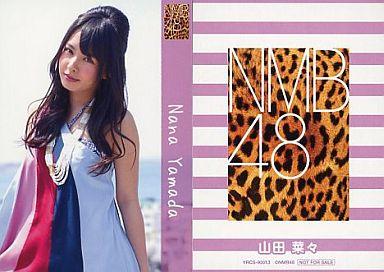 【中古】アイドル(AKB48・SKE48)/CD「ナギイチ」封入トレカ 山田菜々/YRCS-90013/CD「ナギイチ通常盤 Type-C DVD付き」封入トレカ