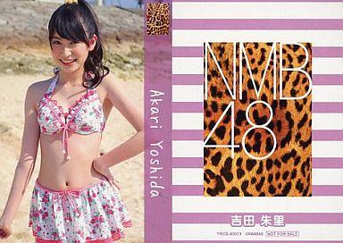【中古】アイドル(AKB48・SKE48)/CD「ナギイチ」封入トレカ 吉田朱里/YRCS-90013/CD「ナギイチ通常盤 Type-C DVD付き」封入トレカ