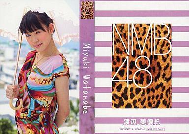 【中古】アイドル(AKB48・SKE48)/CD「ナギイチ」封入トレカ 渡辺美優紀/YRCS-90013/CD「ナギイチ通常盤 Type-C DVD付き」封入トレカ