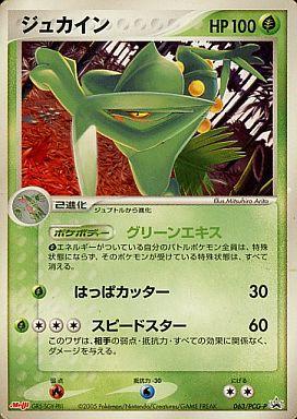 【中古】ポケモンカードゲーム/P/ポケモンチョコスナック 第3弾 063/PCG-P : ジュカイン