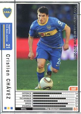 【中古】WCCF/2010-2011 8 : クリスティアン・チャベス