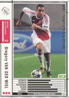 【中古】WCCF/2010-2011 165 : グレゴリー・ファン・デル・ウィール