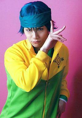平野良/一氏ユウジ役/腰上/右手顔前/ユニフォーム/ミュージカル「テニスの王子様」公式生写真