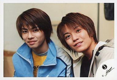 今井翼・渋谷すばる/ジャニーズJr.時代/横型・バストアップ・今井ジャージ水色/公式生写真