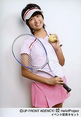 【中古】生写真(ハロプロ)/アイドル/Berryz工房 Berryz工房/徳永千奈美/膝上/右手テニスラケット/左手テニスボール/ピンクのテニスウェア/イベント記念Bセット