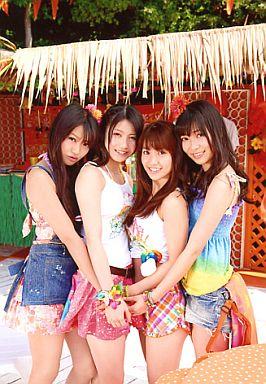 【中古】生写真(AKB48・SKE48)/アイドル/AKB48 Not yet/4人/波乗りかき氷/ヤマダ電機特典