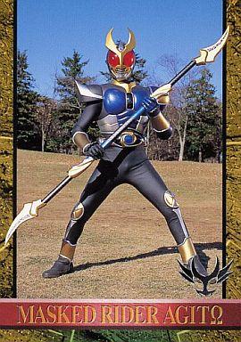 武器を持つ仮面ライダーアギト