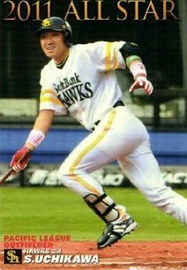 【中古】スポーツ/オールスターカード/2011プロ野球チップス第3弾 AS-08  [オールスターカード] : 内川聖一