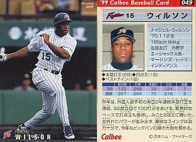 49 : ウィルソン   中古   スポーツ/1999プロ野球チップス第1弾/日本 ...