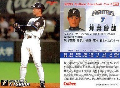 【中古】スポーツ/2005プロ野球チップス第2弾/日本ハム/レギュラーカード 91 : 坪井 智哉
