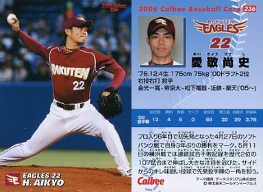 236 : 愛敬 尚史 | 中古 | スポ...