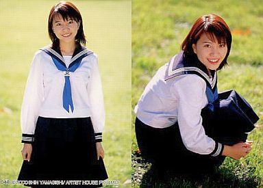 女子高生スタイルの金田美香さん