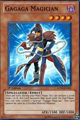 GENF-EN001 [SR] : Gagaga Magician/ガガガマジシャン