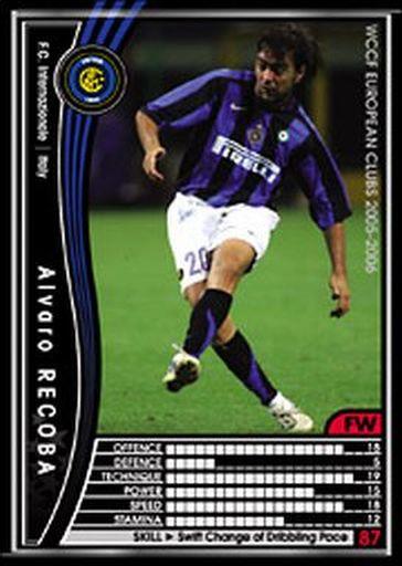 【中古】WCCF/2005-2006 208 : FW アルバロ・レコバ