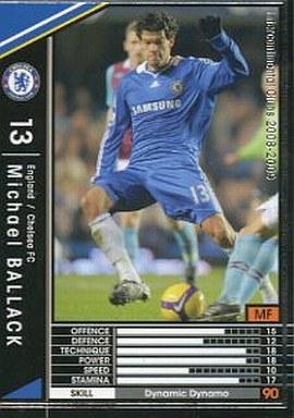 【中古】WCCF/2008-2009 88 : MF ミヒャエル・バラック