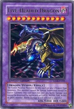 【中古】遊戯王/英語版/UR/Structure Deck:Dinosaur's Rage SD09-ENSS1 [UR] : FIVE-HEADED DRAGON /F・G・D(英語版)