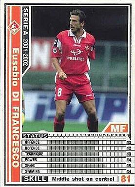 【中古】WCCF/2001-2002 201 : MF エウゼビオ・ディ・フランチェスコ