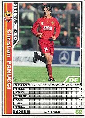 【中古】WCCF/2001-2002 213 : DF クリスティアン・パヌッチ