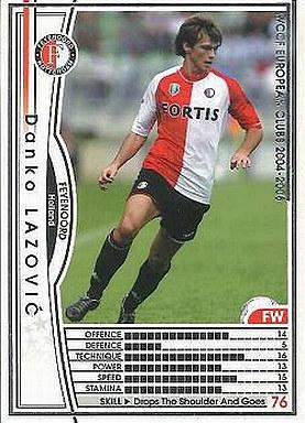 【中古】WCCF/2004-2005 96 : FW ダンコ・ラゾビッチ
