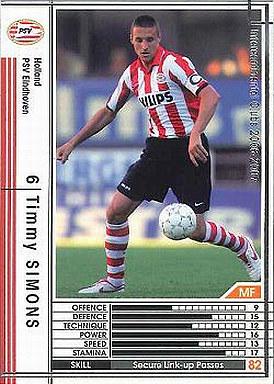 【中古】WCCF/2006-2007 268 : MF ティミー・シモンズ