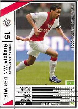 【中古】WCCF/2008-2009 165 : DF グレゴリー・ファン・デル・ウィール