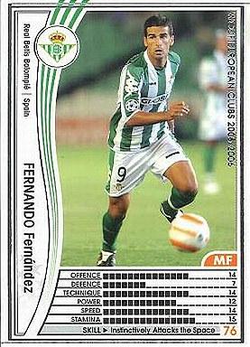 【中古】WCCF/2005-2006 299 : MF フェルナンド・フェルナンデス