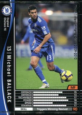 【中古】WCCF/2009-2010 87 : MF ミヒャエル・バラック