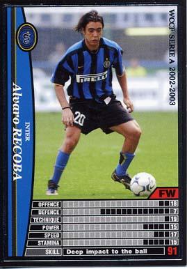 【中古】WCCF/SP/FW/2002-2003 111 [SP] : アルヴァロ・レコバ