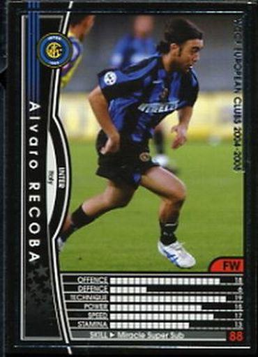 【中古】WCCF/FW/2004-2005 127 : アルバロ・レコバ