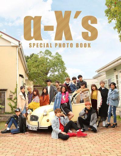 駿河屋 新品 男性写真集 初回限定版)DVD付)α-X's(アクロス) PHOTO BOOK