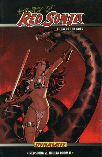 SWORD OF RED SONJA:DOOM OF THE GODS(2)