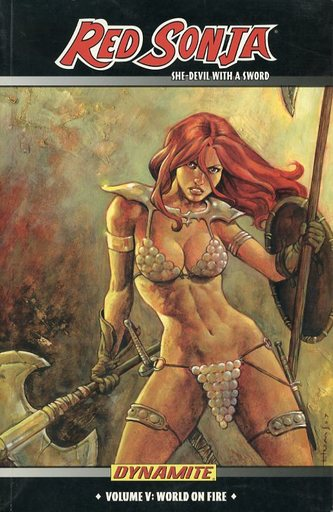 RED SONJA : She-devil WITH a Sword(5)