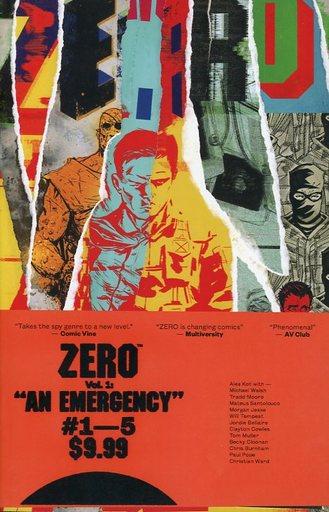 【中古】アメコミ Zero: An Emergency(1) / Ales Kot