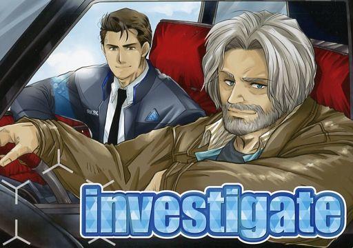 その他ゲーム investigate (コナー×ハンク) / Naja