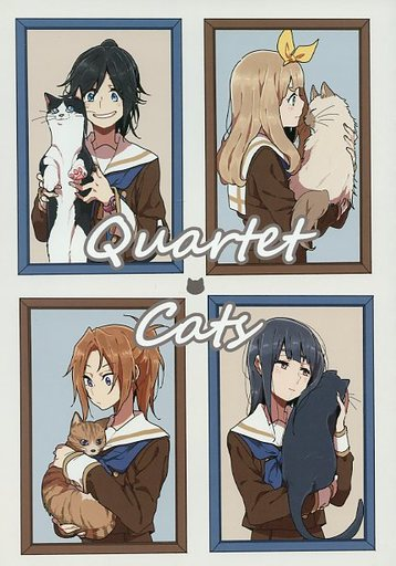 その他アニメ・漫画 Quartet Cats / れれBOX  ZHORE228884image
