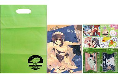 よろず COMIC1☆5 セット(挿絵雑記 4.5+マグネティックカードステッカー+クリアパスケース+クリアチャーム+エコバッグ) / CUT A DASH!!/BLAZER ONE